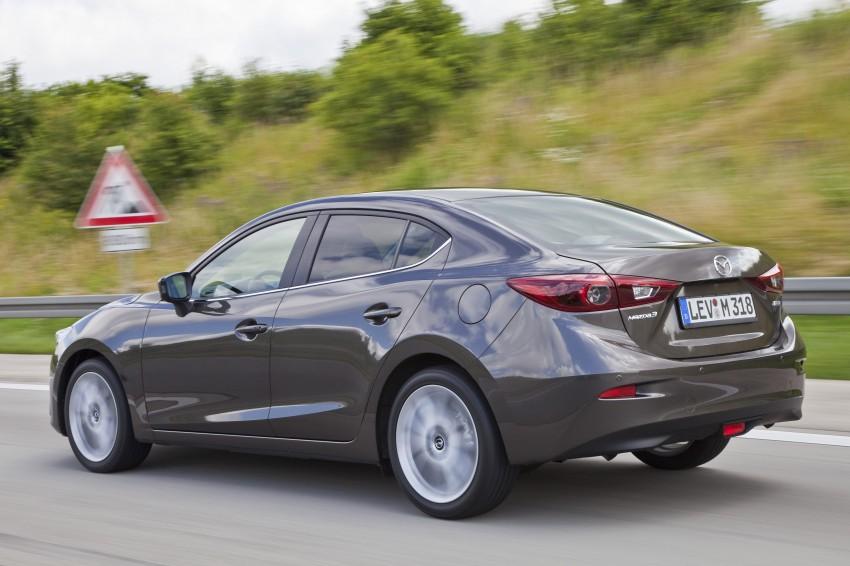 2014 Mazda 3 Sedan and Hatchback Mega Gallery Image #186955