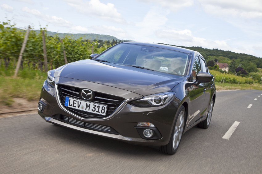 2014 Mazda 3 Sedan and Hatchback Mega Gallery Image #186948