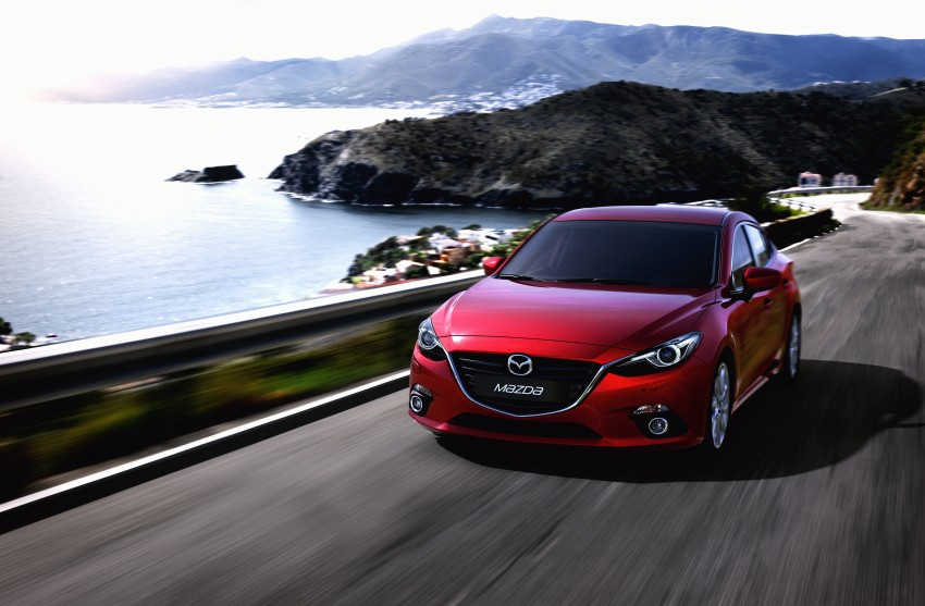 2014 Mazda 3 Sedan and Hatchback Mega Gallery Image #186945