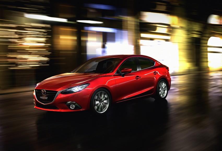 2014 Mazda 3 Sedan and Hatchback Mega Gallery Image #186941