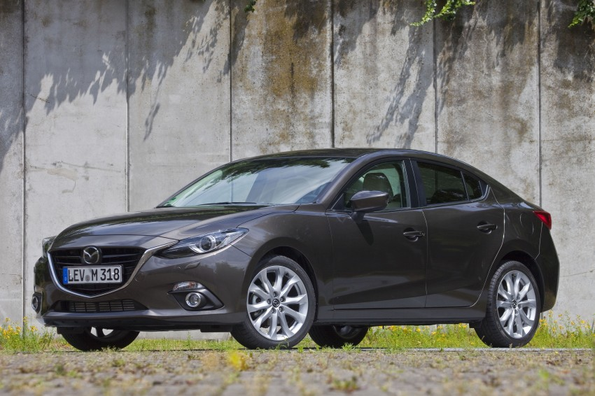 2014 Mazda 3 Sedan and Hatchback Mega Gallery Image #186896