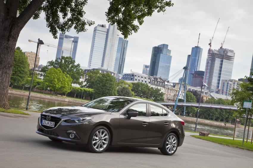 2014 Mazda 3 Sedan and Hatchback Mega Gallery Image #186897