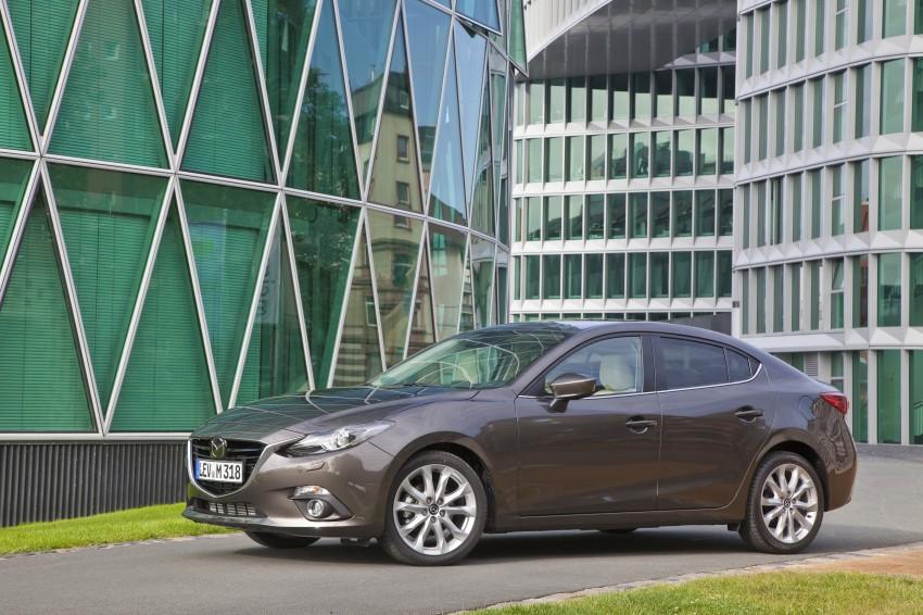 2014 Mazda 3 Sedan and Hatchback Mega Gallery Image #186888