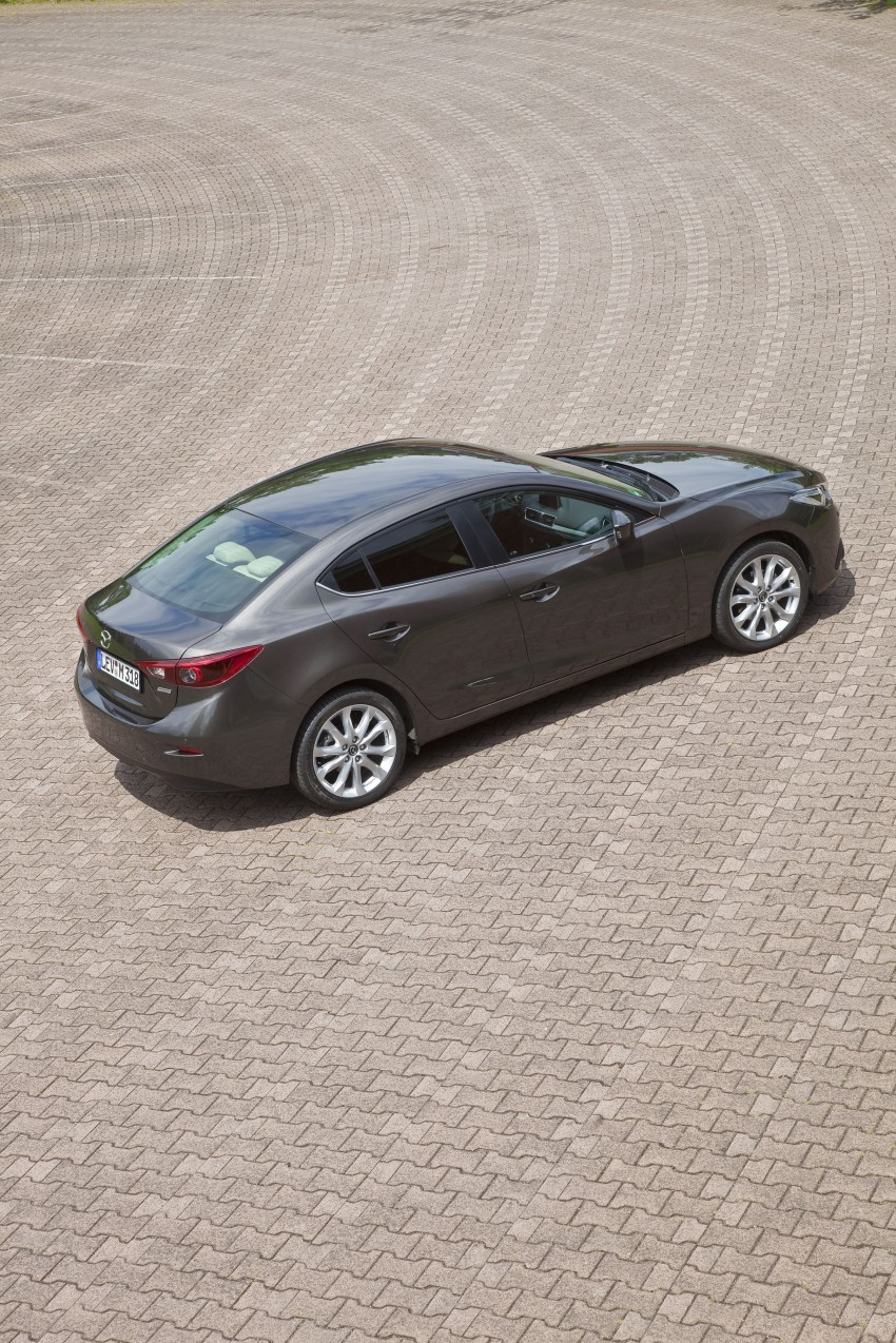 2014 Mazda 3 Sedan and Hatchback Mega Gallery Image #186878
