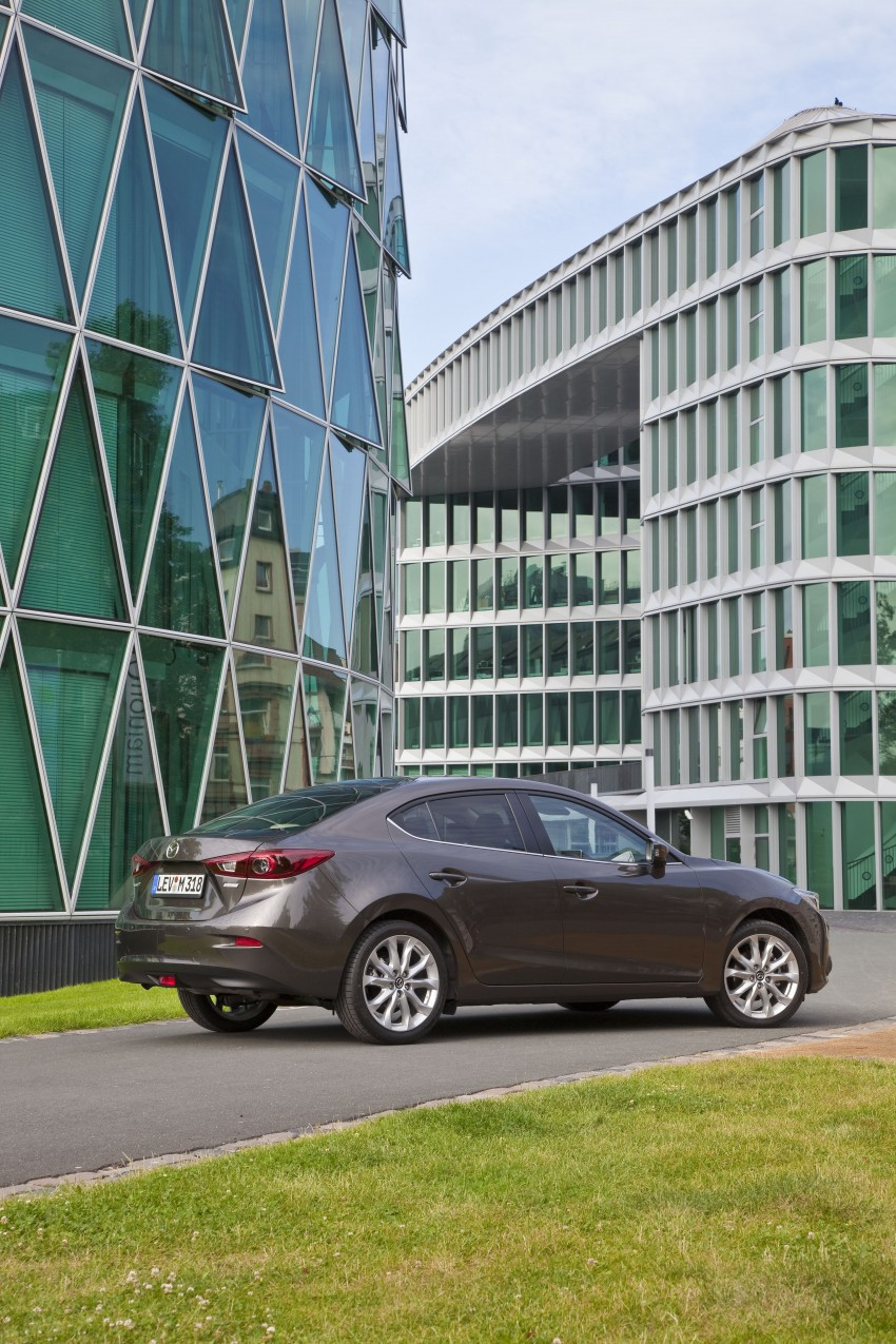 2014 Mazda 3 Sedan and Hatchback Mega Gallery Image #186877