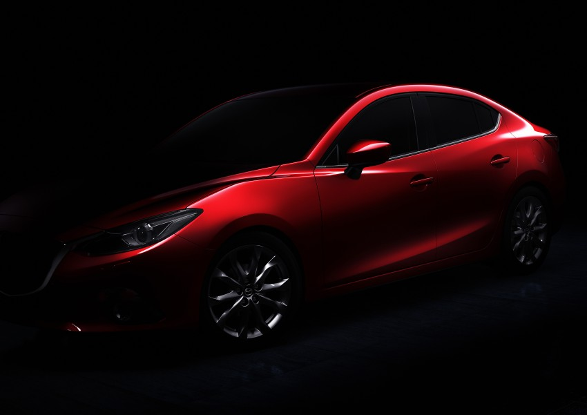 2014 Mazda 3 Sedan and Hatchback Mega Gallery Image #186879