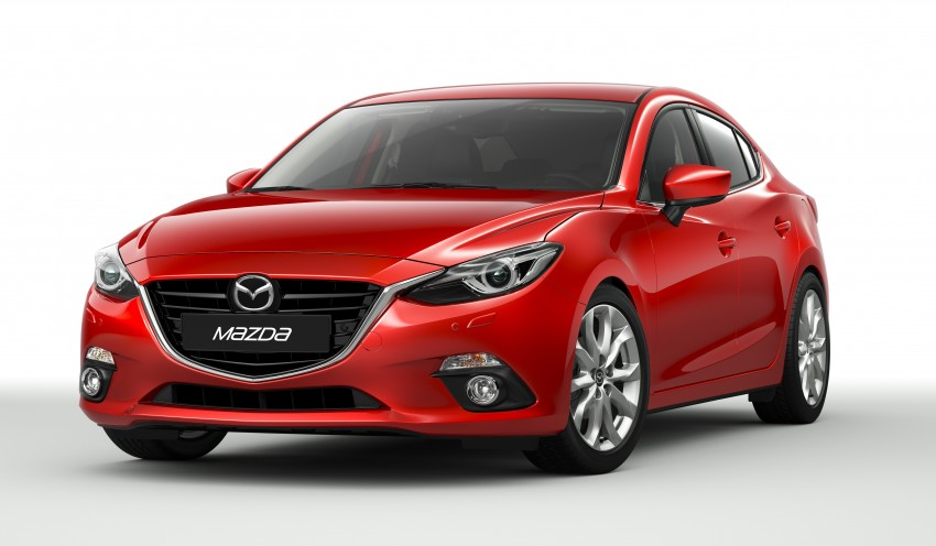 2014 Mazda 3 Sedan and Hatchback Mega Gallery Image #186869