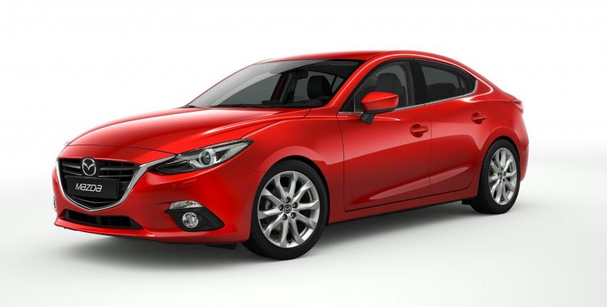 2014 Mazda 3 Sedan and Hatchback Mega Gallery Image #186872