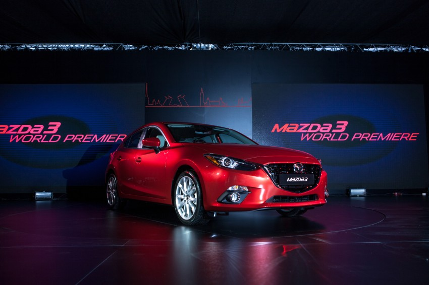 2014 Mazda 3 Sedan and Hatchback Mega Gallery Image #187057