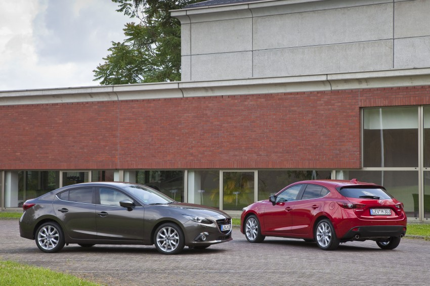 2014 Mazda 3 Sedan and Hatchback Mega Gallery Image #187097