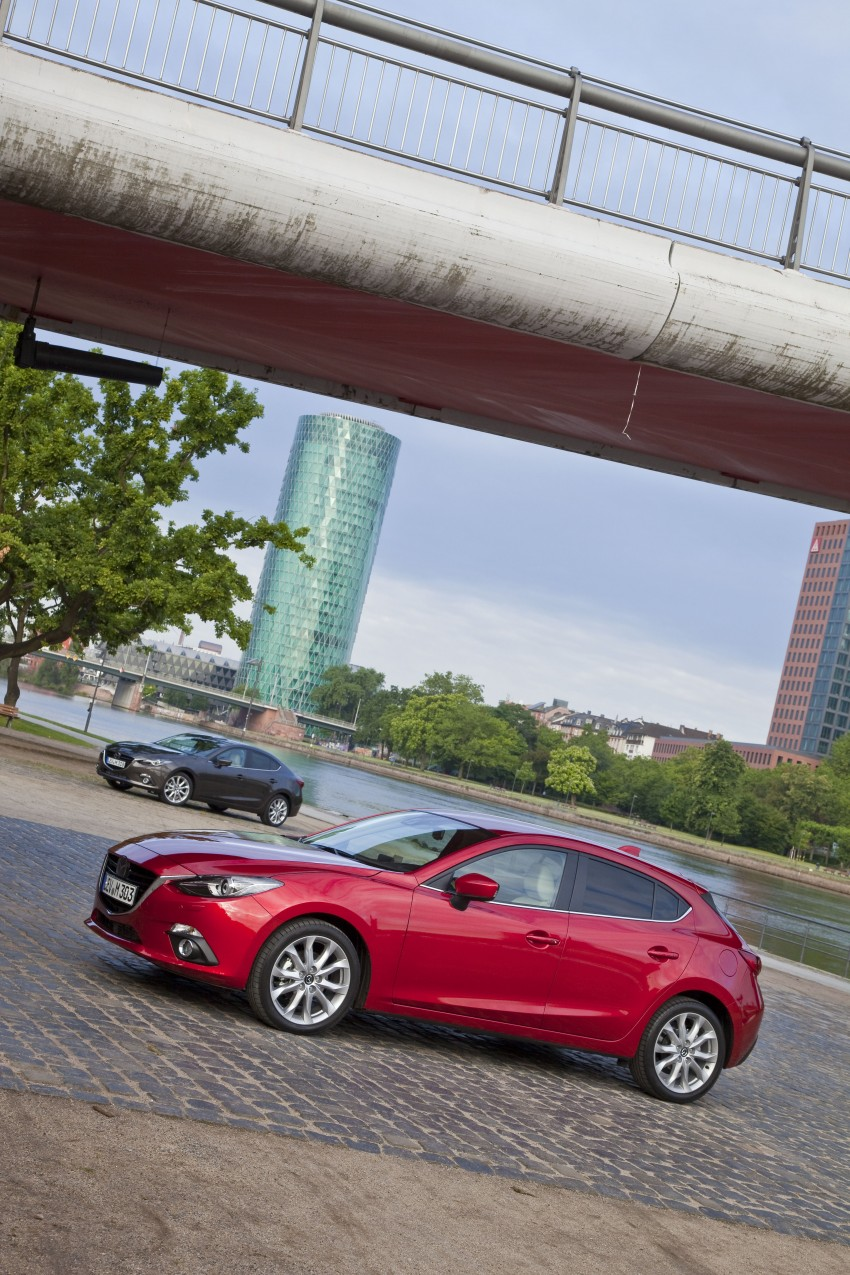 2014 Mazda 3 Sedan and Hatchback Mega Gallery Image #187090