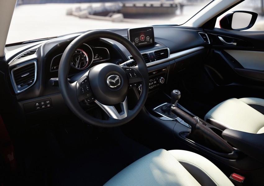 2014 Mazda 3 Sedan and Hatchback Mega Gallery Image #187024