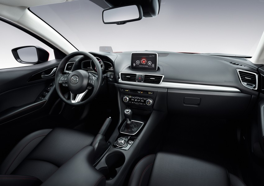 2014 Mazda 3 Sedan and Hatchback Mega Gallery Image #187015