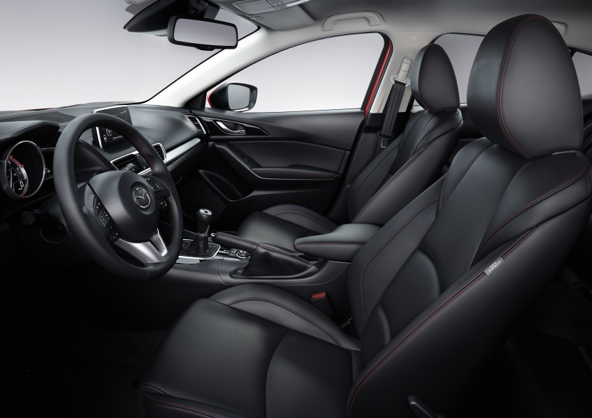 2014 Mazda 3 Sedan and Hatchback Mega Gallery Image #187017