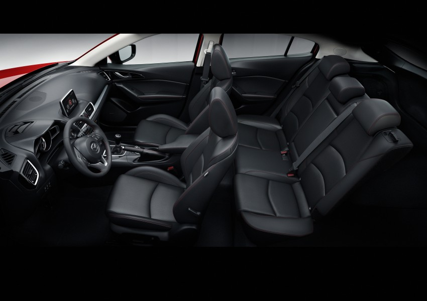 2014 Mazda 3 Sedan and Hatchback Mega Gallery Image #186999