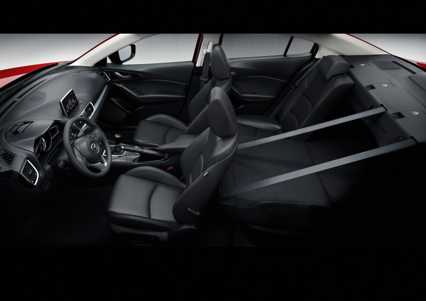 2014 Mazda 3 Sedan and Hatchback Mega Gallery Image #186997