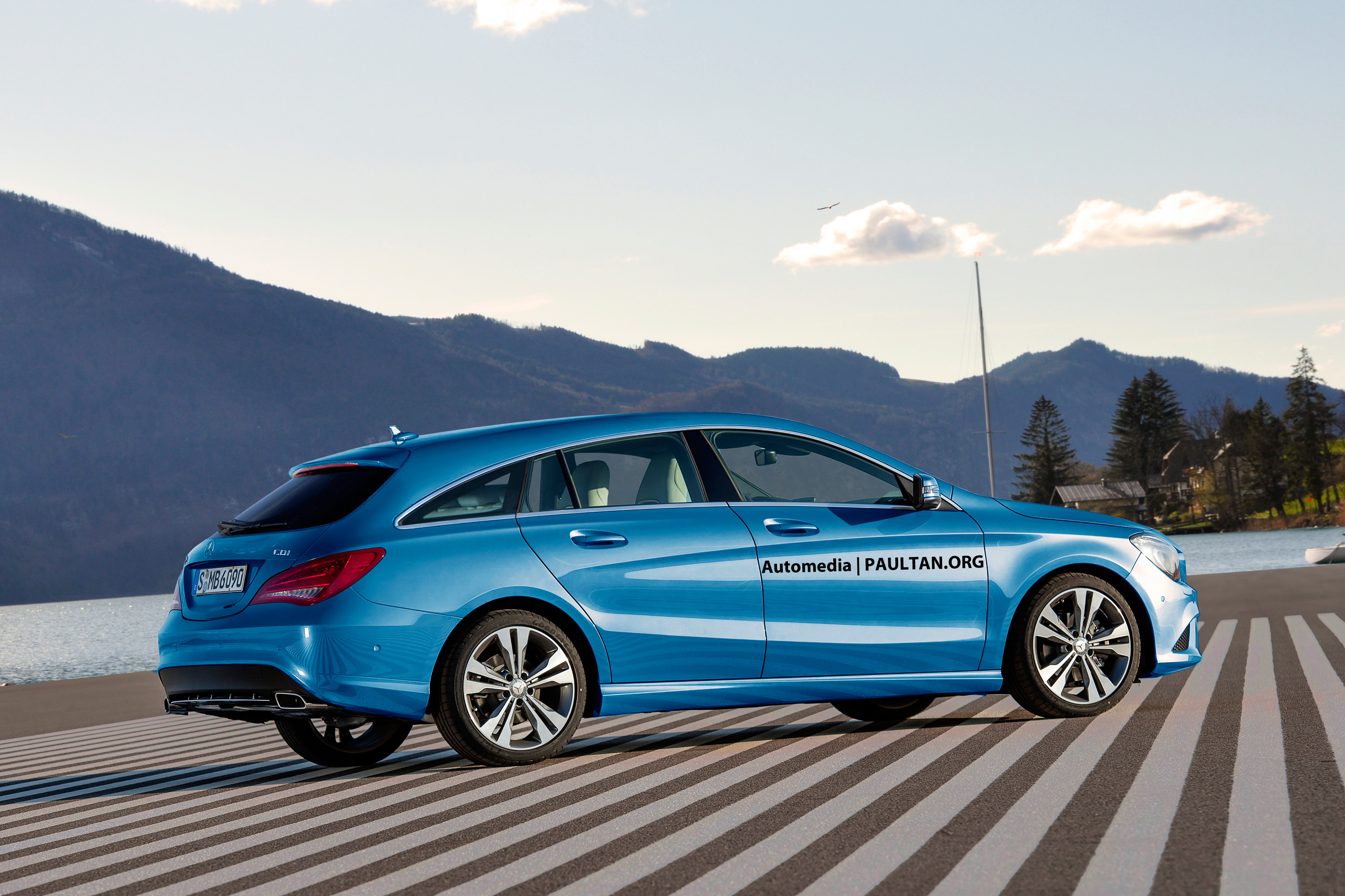 merc 39 s fwd lineup to expand cla shooting brake. Black Bedroom Furniture Sets. Home Design Ideas