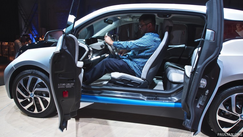 LIVE GALLERY: Production BMW i3 electric car unveiled in Beijing, London and New York Image #190306