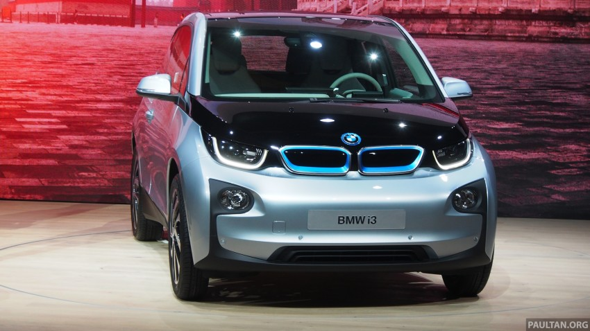 LIVE GALLERY: Production BMW i3 electric car unveiled in Beijing, London and New York Image #190254
