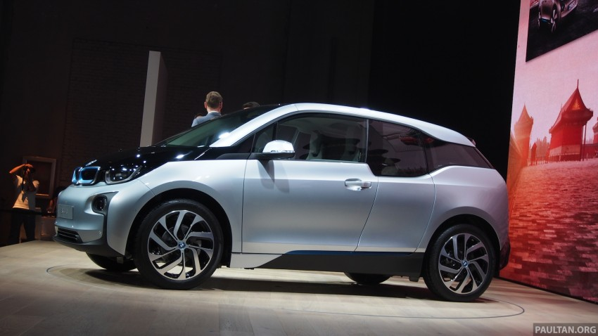 LIVE GALLERY: Production BMW i3 electric car unveiled in Beijing, London and New York Image #190249