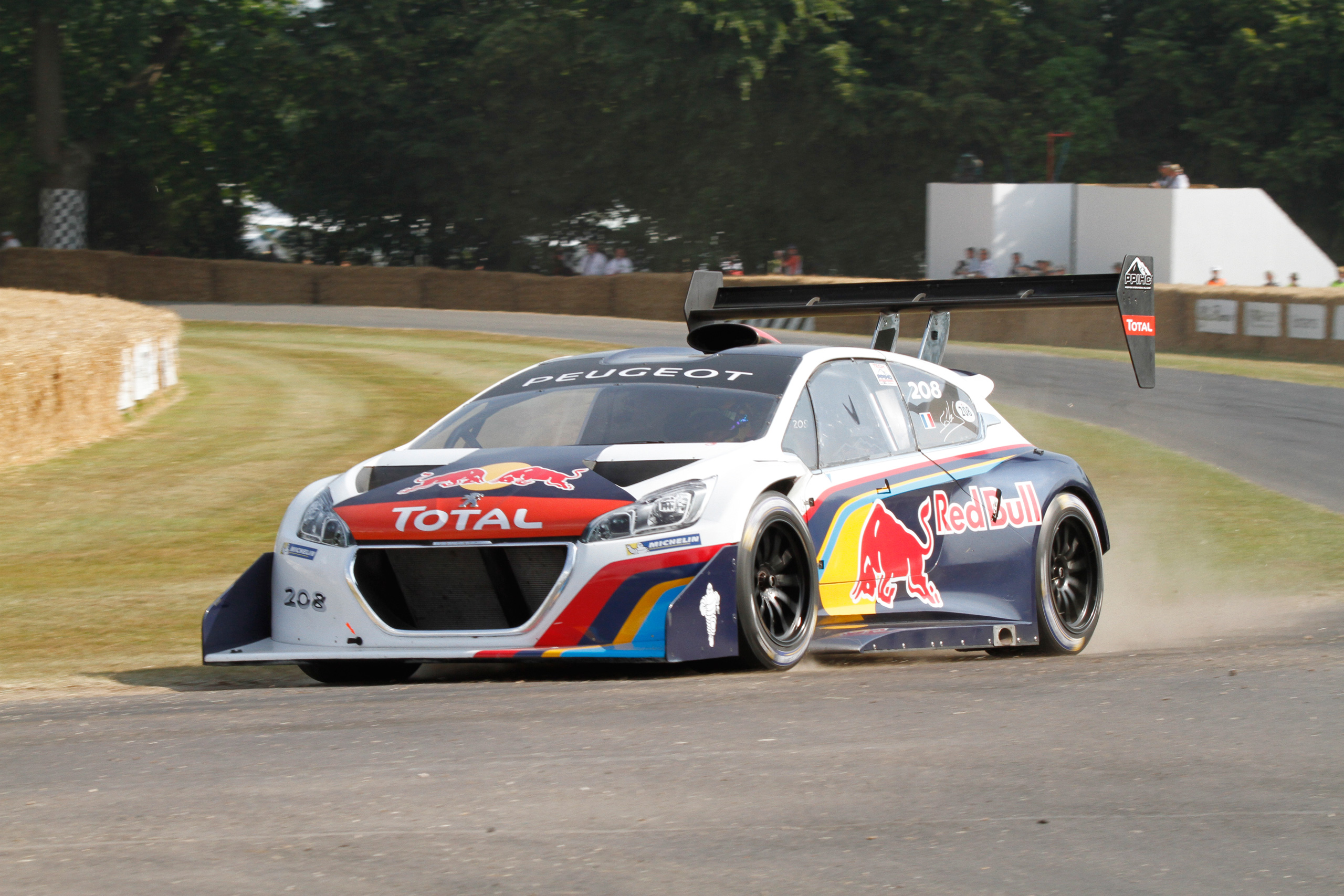 Peugeot 208 T16 Pikes Peak Fastest At Goodwood Too