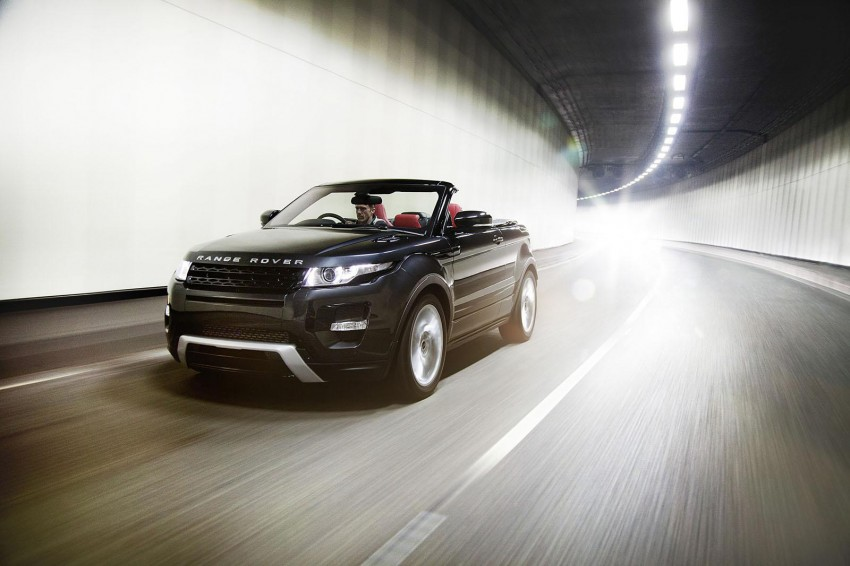 Range Rover Evoque Convertible to be built after all Image #188193