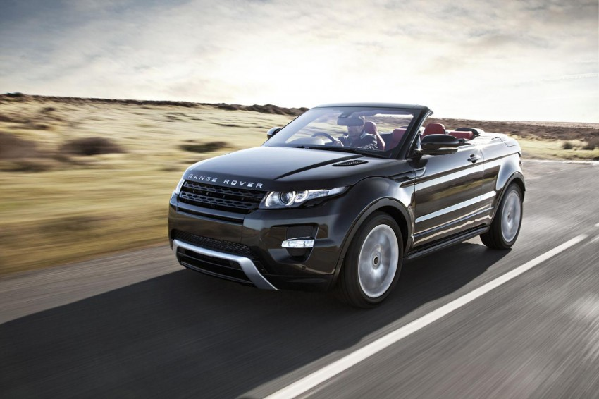 Range Rover Evoque Convertible to be built after all Image #188194