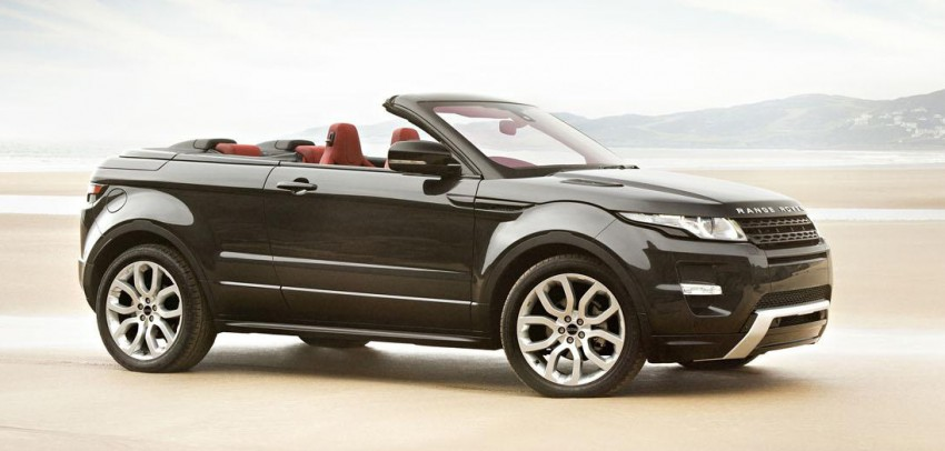 Range Rover Evoque Convertible to be built after all Image #188201