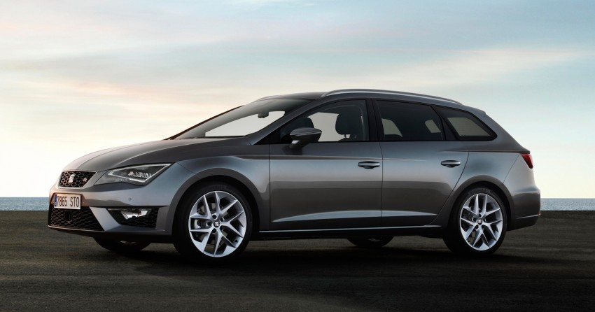 SEAT Leon ST combines practicality with Spanish flair Image #189040