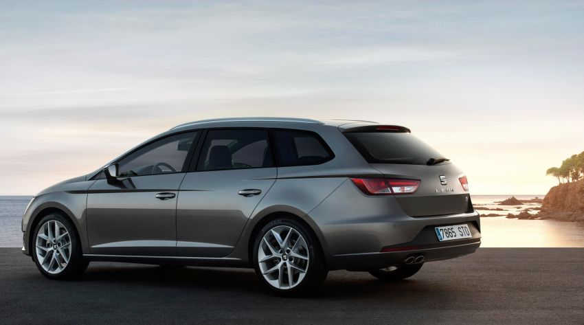 SEAT Leon ST combines practicality with Spanish flair Image #189041
