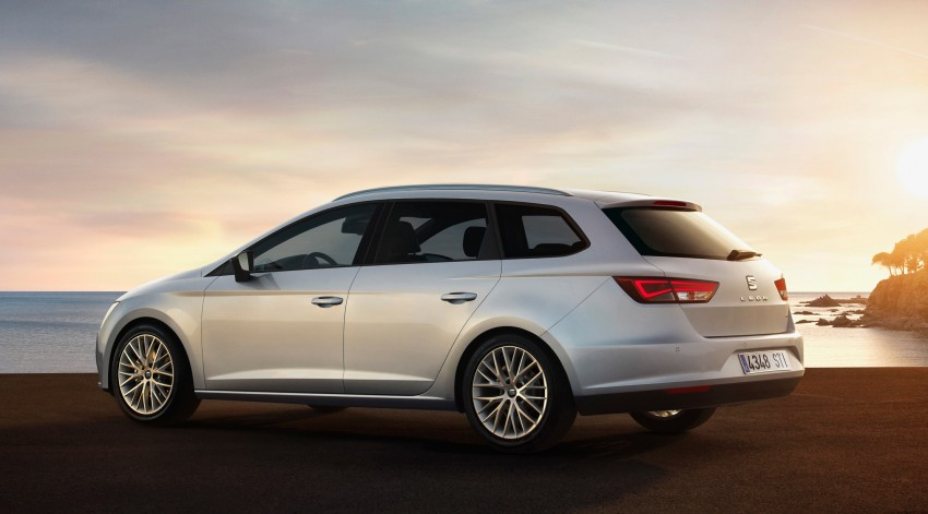 SEAT Leon ST combines practicality with Spanish flair Image #189044