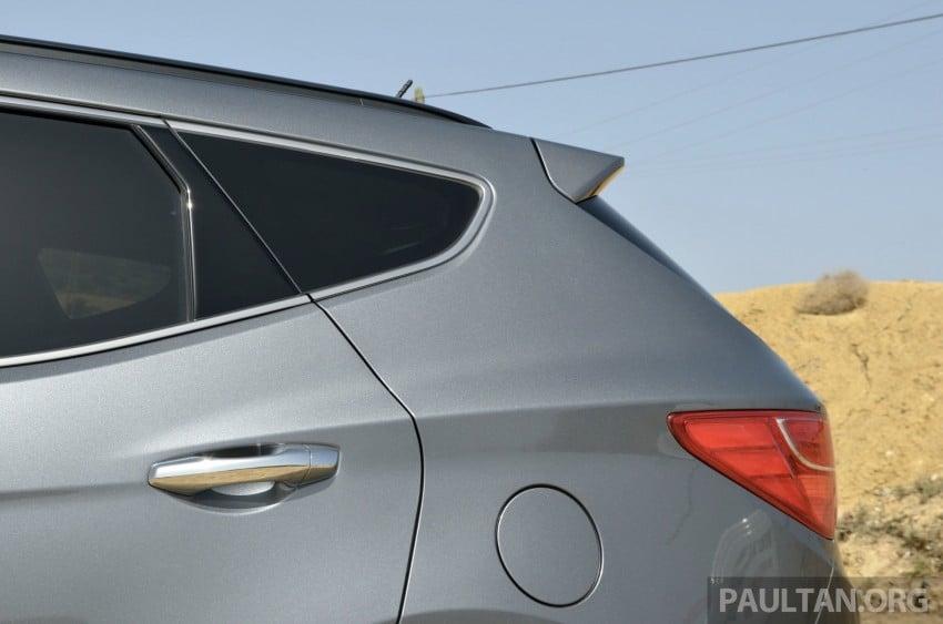 DRIVEN: Hyundai Santa Fe 2.2 CRDi tested in Morocco Image #184908