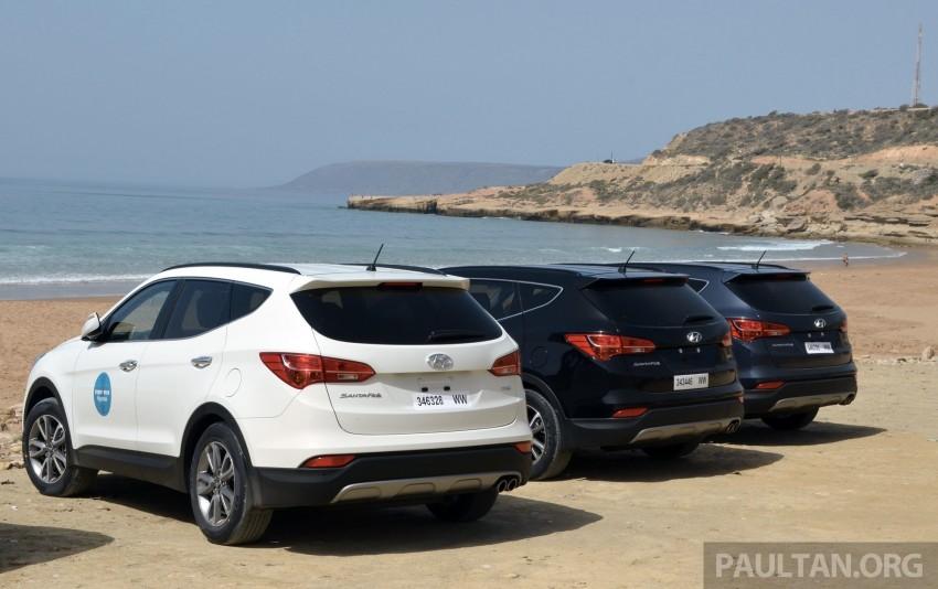DRIVEN: Hyundai Santa Fe 2.2 CRDi tested in Morocco Image #184912
