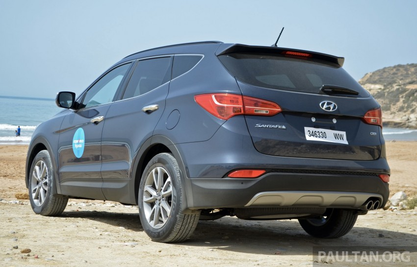 DRIVEN: Hyundai Santa Fe 2.2 CRDi tested in Morocco Image #184914