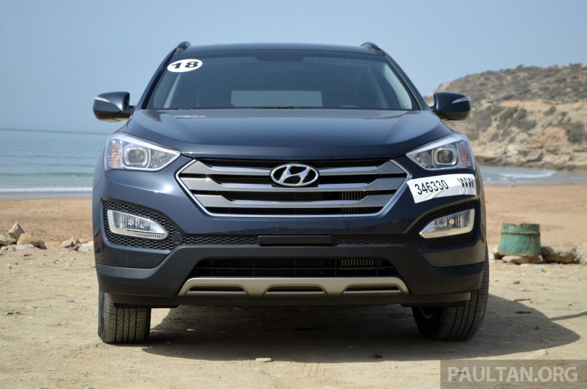 DRIVEN: Hyundai Santa Fe 2.2 CRDi tested in Morocco Image #184916
