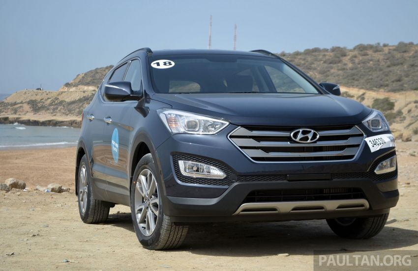 DRIVEN: Hyundai Santa Fe 2.2 CRDi tested in Morocco Image #184918