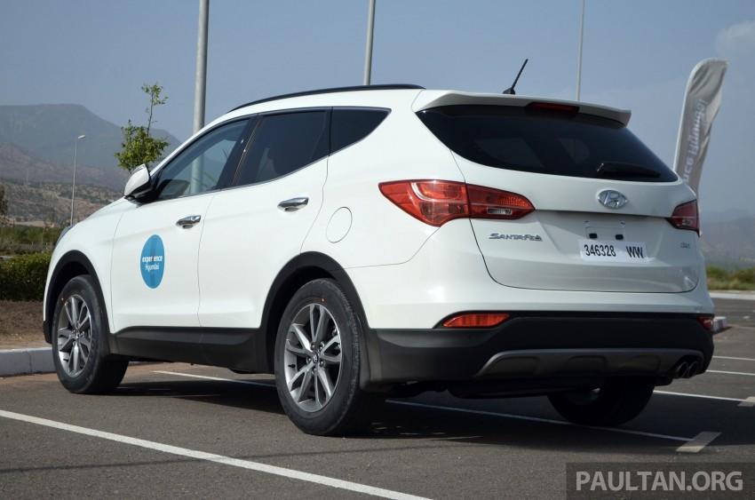 DRIVEN: Hyundai Santa Fe 2.2 CRDi tested in Morocco Image #184920