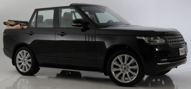 Range Rover Convertible by Newport