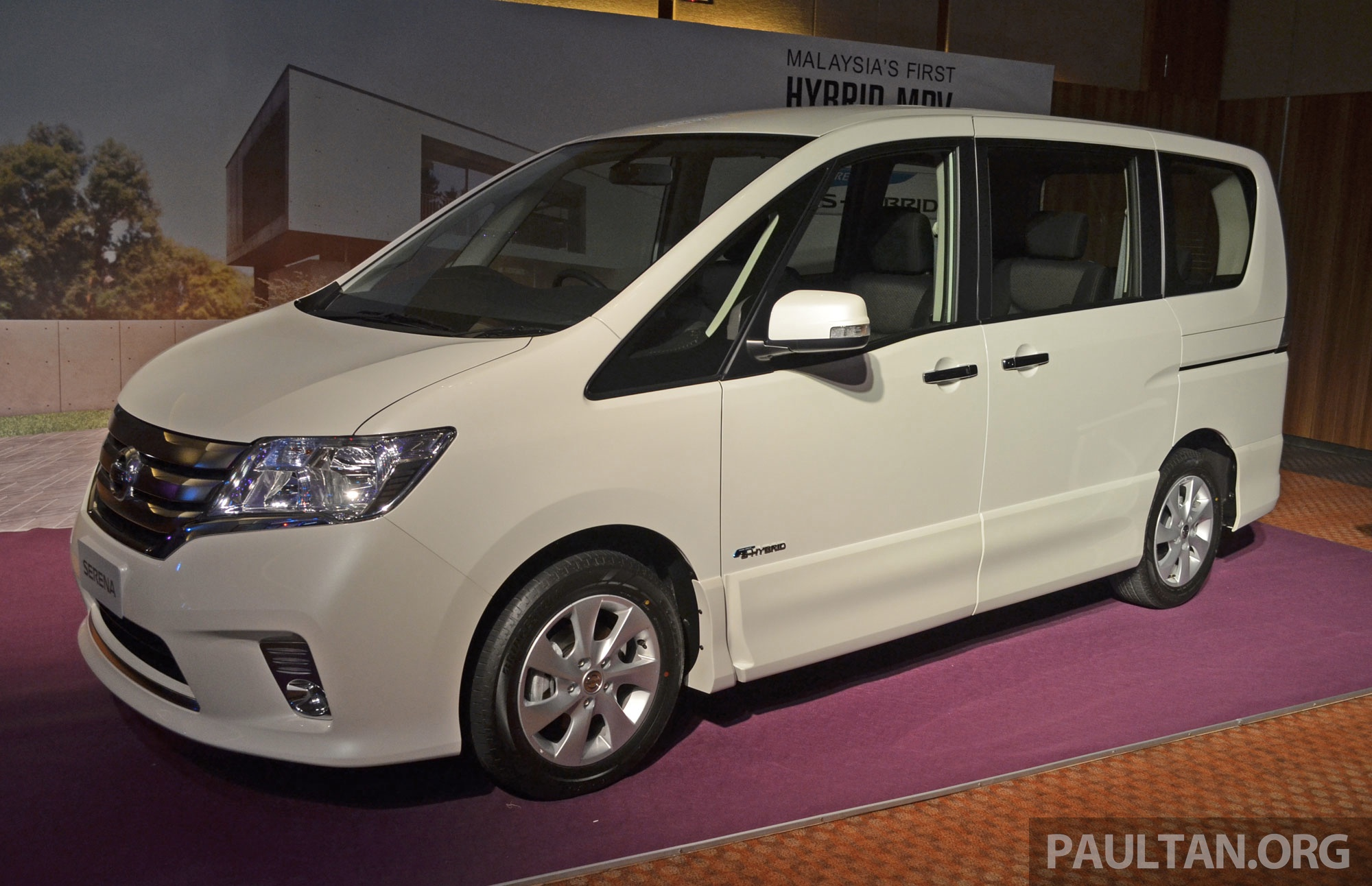 Nissan Serena S Hybrid Launched In Malaysia 8 Seater Mpv Cbu From