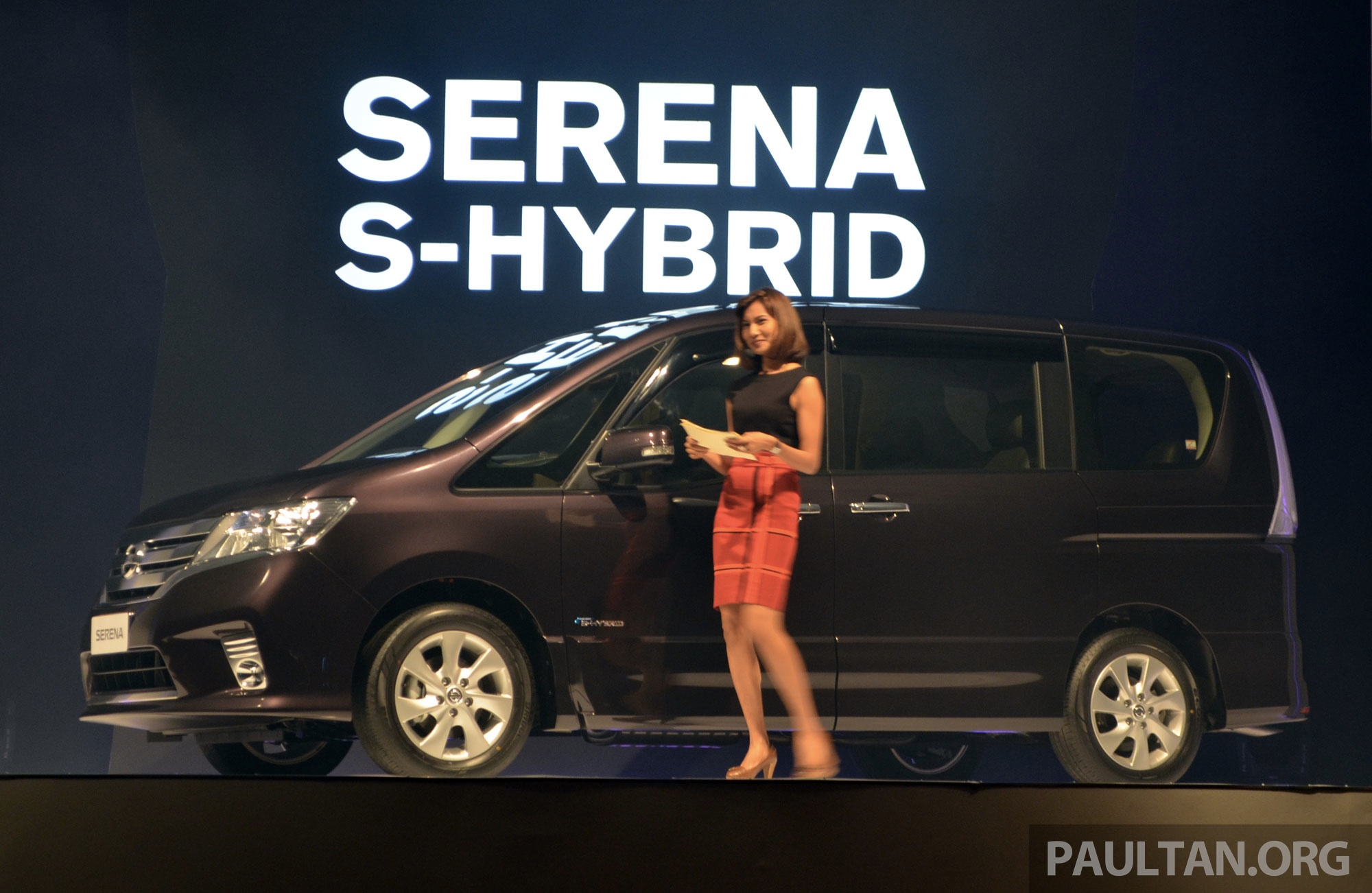 Nissan Serena S Hybrid Launched In Malaysia 8 Seater Mpv