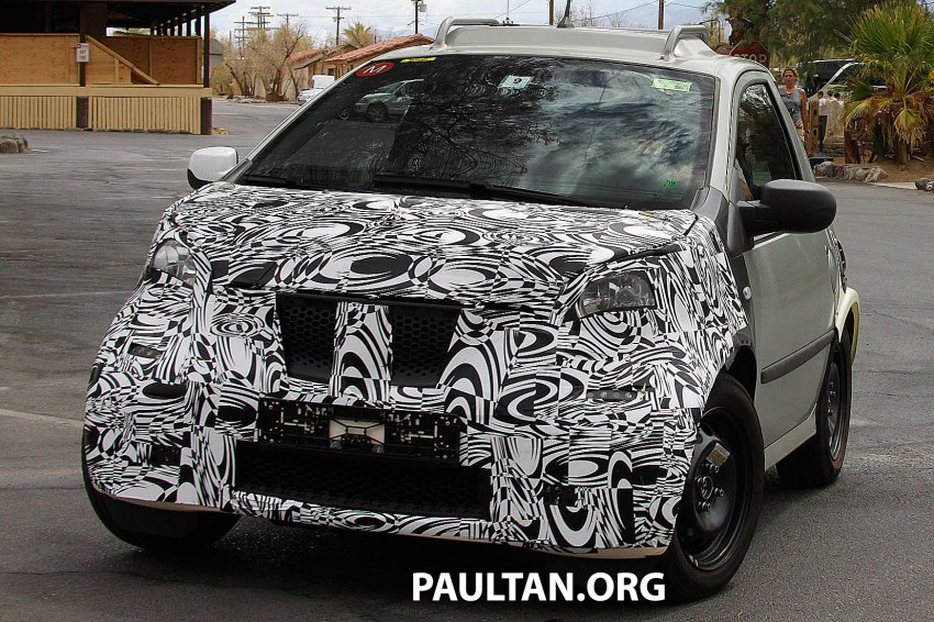 SPIED: Smart ForTwo and Renault Twingo mules Image #189889