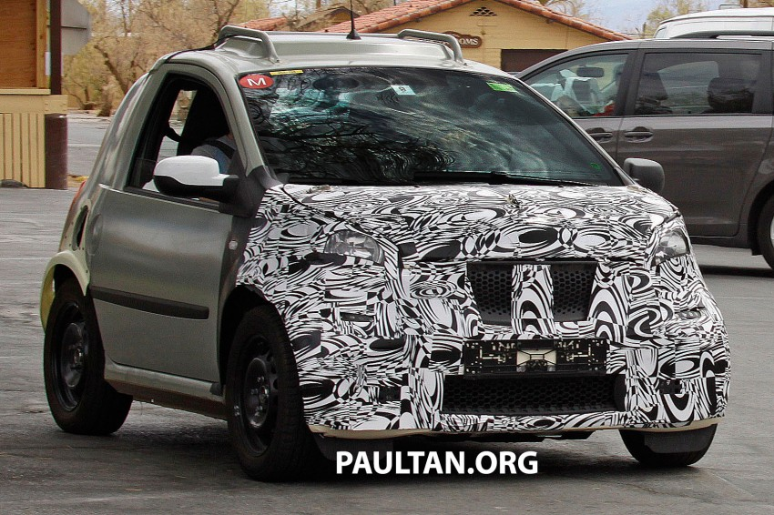 SPIED: Smart ForTwo and Renault Twingo mules Image #189885