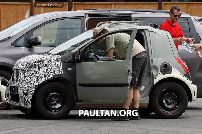 SPIED: Smart ForTwo and Renault Twingo mules Image #189886