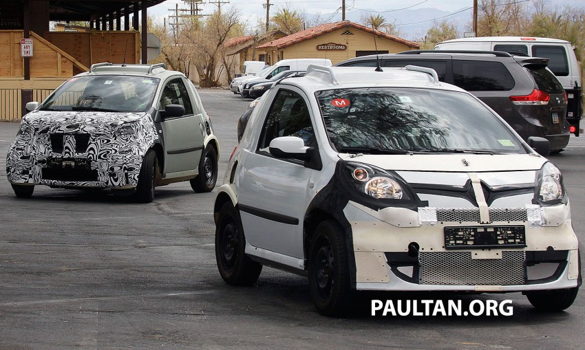 SPIED: Smart ForTwo and Renault Twingo mules Image #189888
