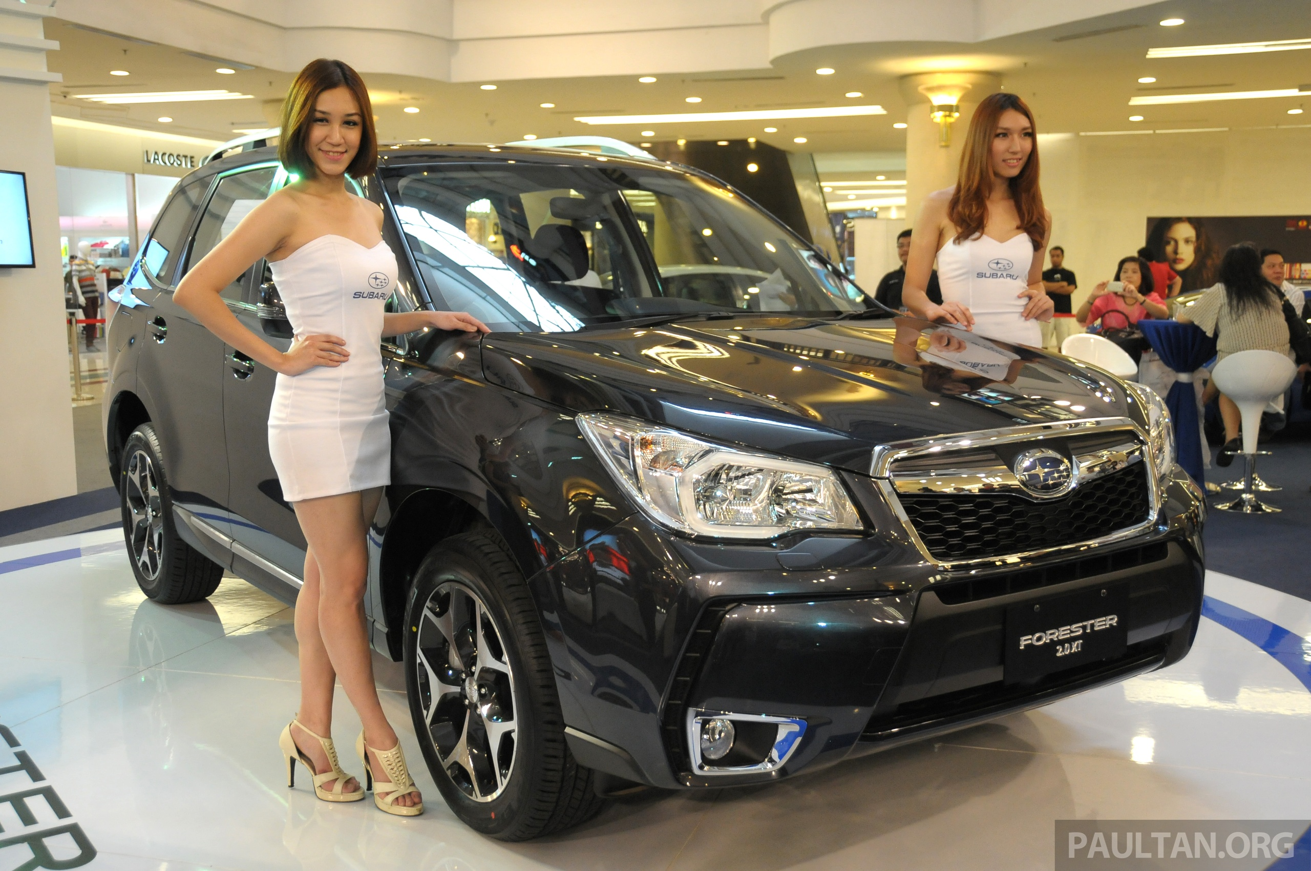 Subaru forester fourth gen launched rm199 800 image 190844