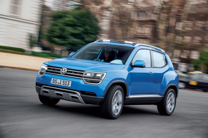 vw taigun compact suv to enter production in 2016. Black Bedroom Furniture Sets. Home Design Ideas