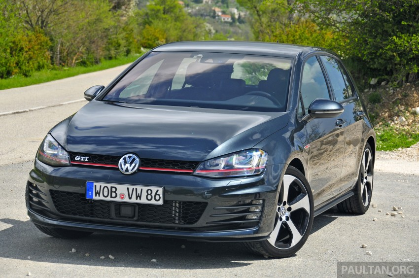 DRIVEN: New 220 PS Volkswagen Golf GTI Mk7 tested Image #189452