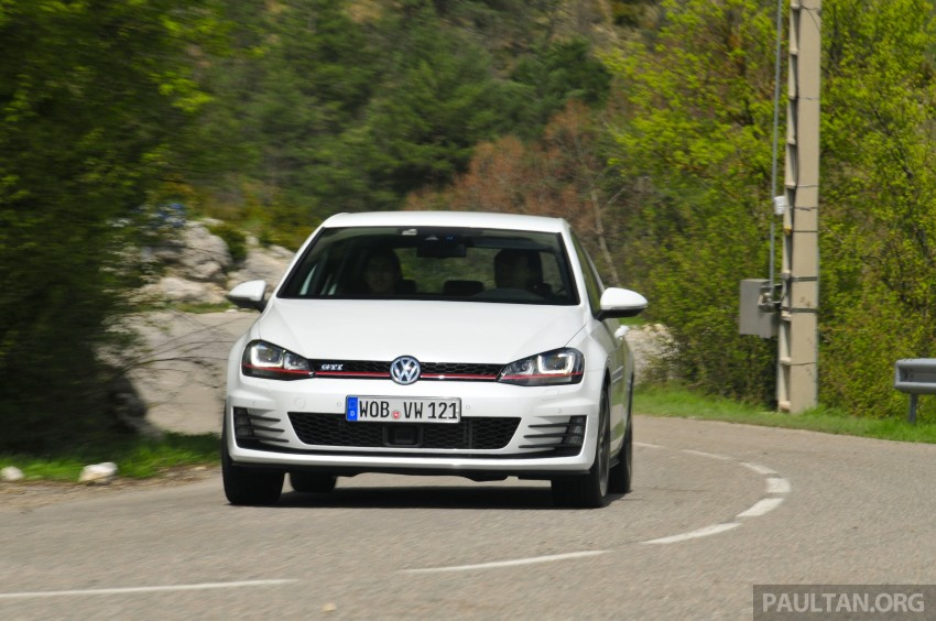 DRIVEN: New 220 PS Volkswagen Golf GTI Mk7 tested Image #189462