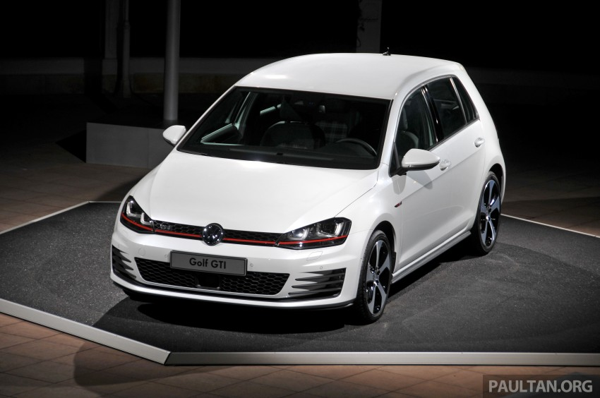 DRIVEN: New 220 PS Volkswagen Golf GTI Mk7 tested Image #189484