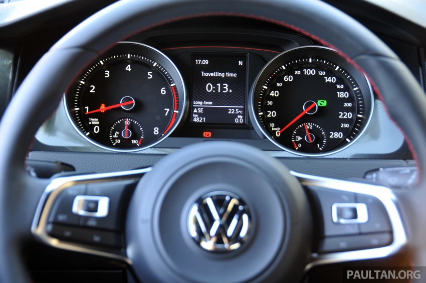 DRIVEN: New 220 PS Volkswagen Golf GTI Mk7 tested Image #189527